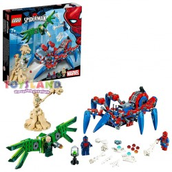LEGO SUPER HEROES CRAWLER DI SPIDERMAN (76114)