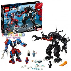 LEGO SUPER HEROES MECH DI SPIDERMAN VS. VENOM (76115)