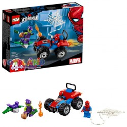 LEGO SUPER HEROES INSEGUIMENTO IN AUTO DI SPIDERMAN (76133)