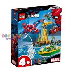 LEGO SUPER HEROES SPIDERMAN LA RAPINA DIAMANTI DOCK OCK (76134)