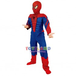 SPIDERMAN COSTUME CON MUSCOLI (F044003)