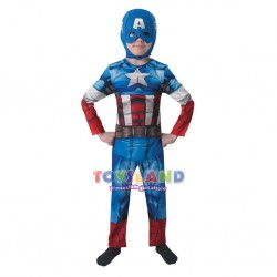 COSTUME CAPITAN AMERICA CLASSIC TAGLIA L (IT610261)