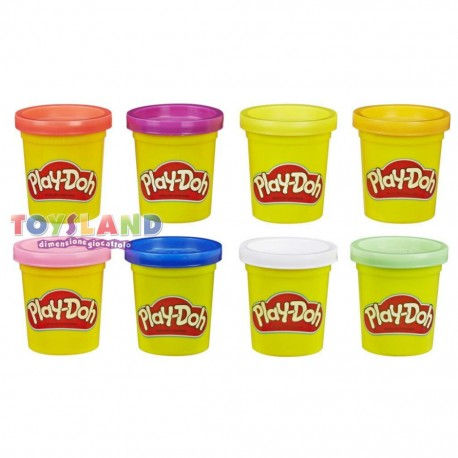 PASTA MODELLABILE PLAYDOH 8 VASETTI (E5044)