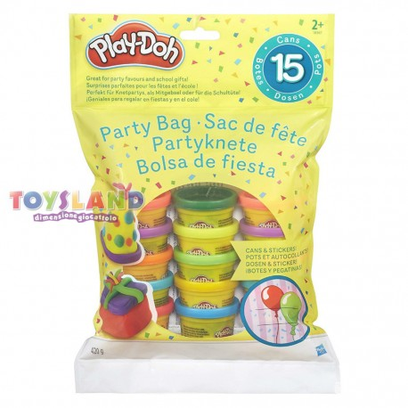 BUSTA 15 VASETTI PASTA MODELLABILE PLAY-DOH (18367)