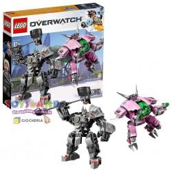 LEGO OVERWATCH D.VA E REINHARDT (75973)