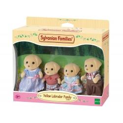 SYLVANIAN FAMILIES - FAMIGLIA LABRADOR CREME CARAMEL (5182)