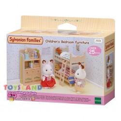 SYLVANIAN FAMILIES - CAMERETTA CON LETTO A CASTELLO (2926 4254)
