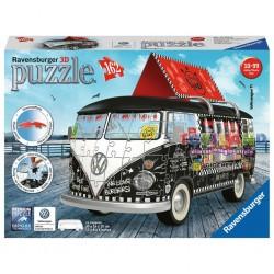 162 PEZZI 3D CAMPER VW FOOD TRUCK (12525)