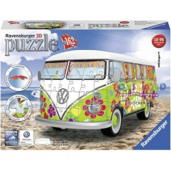 162 PEZZI 3D CAMPER VW HIPPIE (12532)
