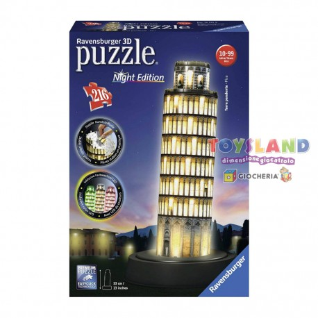 PUZZLE 3D TORRE DI PISA NIGHT EDITION (12515)