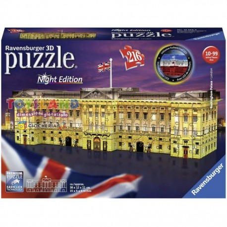 PUZZLE 3D BUCKINGHAM PALACE NIGHT EDITION (12529)