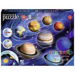 PUZZLE 3D IL SISTEMA PLANETARIO (11668)