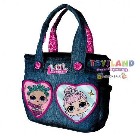 lol surprise borsetta bambina tracolla manici accessori giocattoli borsa rosa