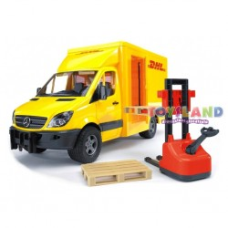 FURGONE MERCEDES BENZ SPRINTER DHL + MULETTO