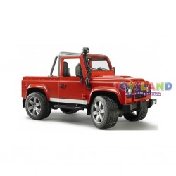 PICK-UP LAND ROVER DEFENDER ROSSO
