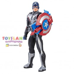 AVENGERS TITAN HERO POWER FX CAPTAIN AMERICA (E3301103)