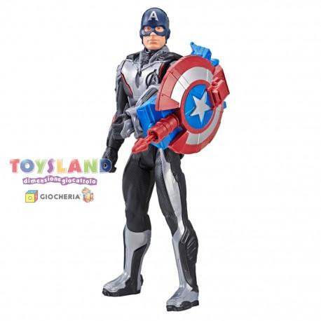 AVENGERS TITAN HERO POWER FX CAPTAIN AMERICA (E3301103)