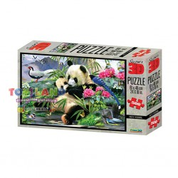 PUZZLE 500PZ 3D MISTY MORNING (10005)