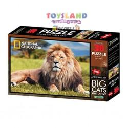 PUZZLE 500PZ 3D LEONE AFRICANO (10051)