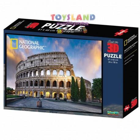 PUZZLE 500PZ 3D COLOSSEO DI ROMA (10106 10138)