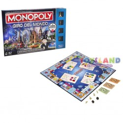 MONOPOLY HERE & NOW GIRO DEL MONDO REFRESH (versione 2017)