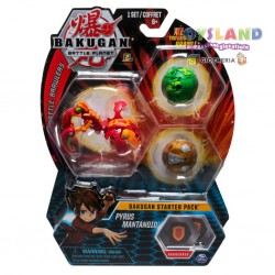 BAKUGAN STARTER PACK ASSORT. (6045144)
