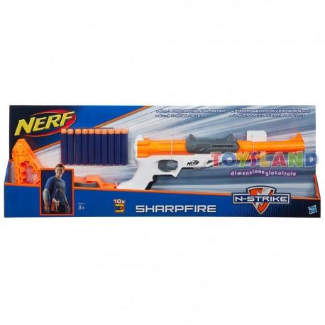 NERF ELITE SHARPFIRE BLASTER