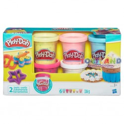 PASTA MODELLABILE PLAY-DOH CONFETTI PACK 6 VASETTI