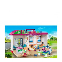 PLAYMOBIL CLINICA VETERINARIA PORTATILE (70146)