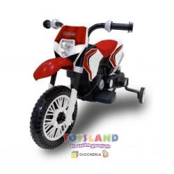 MOTO CROSS ELETTRICA 6V ROSSO (1006R)