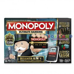 MONOPOLY ULTIMATE BANKING CON BANCA ELETTRONICA