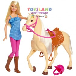 BARBIE CON CAVALLO (FXH13)
