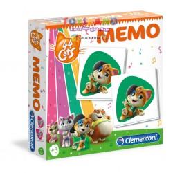 MEMO GAMES 44 GATTI (18049)