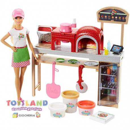 BARBIE PIZZA CHEF PLAYSET (FHR09)