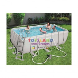 PISCINA POWER S.412x201x122+SCALA+DOS. (56456)