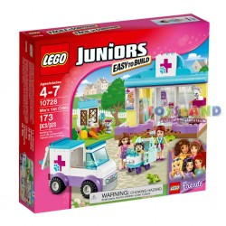 LEGO FRIENDS JUNIORS LA CLINICA VETERINARIA DI MIA (10728)