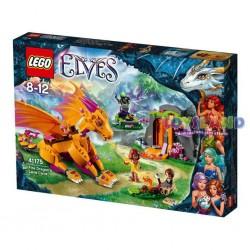 LEGO ELVES LA GROTTA LAVICA DEL DRAGONE DI FUOCO (41175)