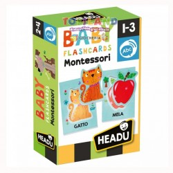 BABY FLASHCARD MONTESSORI (IT21666)
