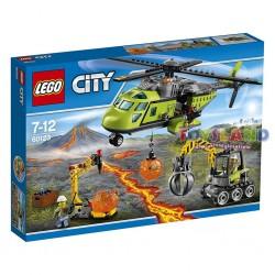 LEGO CITY ELICOTTERO RIFORNIMENTI VULCANICO (60123)
