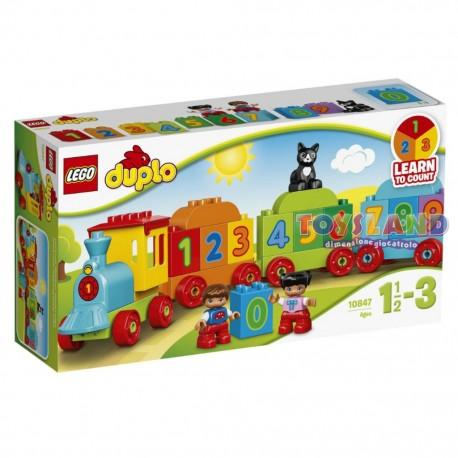 LEGO DUPLO IL TRENO DEI NUMERI (10847)