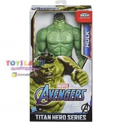 AVENGERS TITAN HERO HULK DELUXE 30CM (E74755L0)