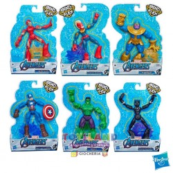 AVENGERS FIGURES ASSORTITE (E73775L0) BEND AND FLEX