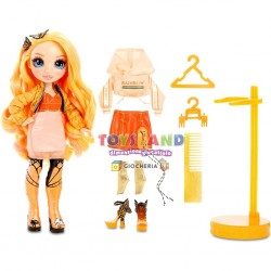 RAINBOW FASHION DOLL POPPY ROWAN (569640)