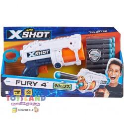 XSHOT-PISTOLA FURY 4 CON 16 DARDI (POS200072)