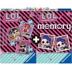 MEMORY+3 PUZZLE LOL (20549)