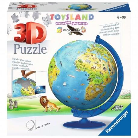 PUZZLE 3D GLOBO 180 PEZZI (12340)