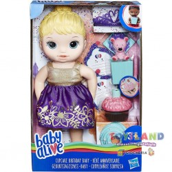 BABY ALIVE CUPCAKE BABY (E0596)