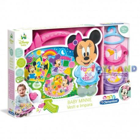 Baby Minnie Vesti e Impara - Toysland Dimensione Giocattolo